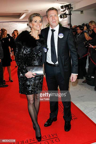 Birgit Koepke and Andreas Koepke attend the German Media Award 2015 on January 23, 2015 in Baden-Baden, Germany.