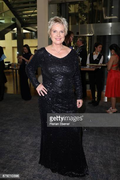 Birgit Lechtermann attends the charity event Dolphin's Night at InterContinental Hotel on November 25 2017 in Duesseldorf Germany
