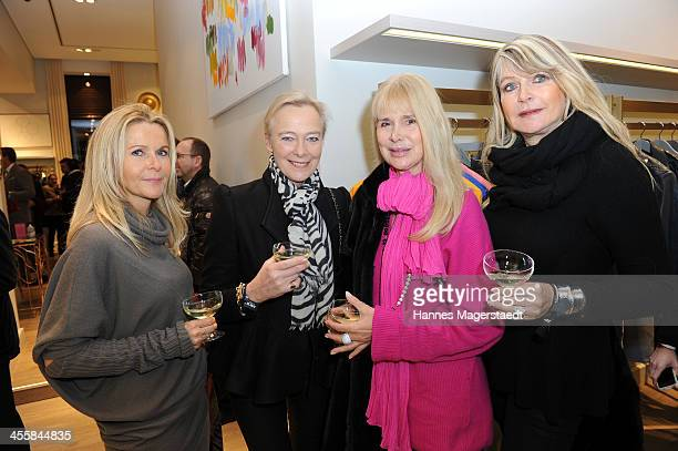 Birgit Leshel Princess Uschi zu Hohenlohe Holde Heuer and Claudia Carpendale attend Apropos Concept Store Opening on December 12 2013 in Munich...