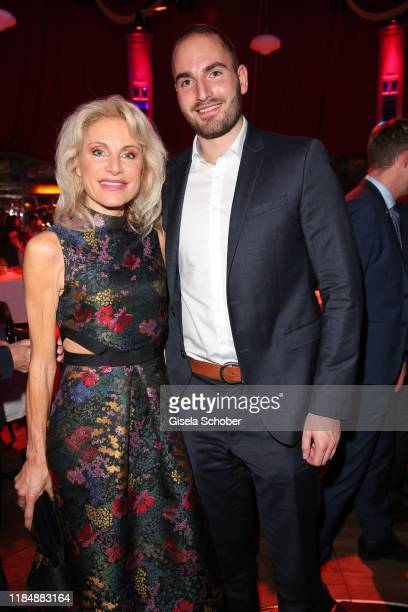 Birgit Muth and her son Alexander Muth at the celebration party of Radio Gong 963 at Teatro Schuhbeck on November 26 2019 in Munich Germany For the...