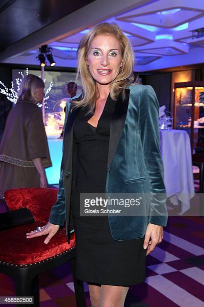 Birgit Muth attends the 'Haute Couture Connection' Cocktail Prolonge at Hotel Vier Jahreszeiten on November 3 2014 in Munich Germany