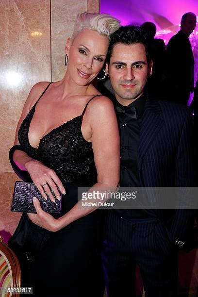 Birgit Nielsen and Mattia Dessi attend the The Bests Awards 2012 Ceremony at salons hoche on December 11 2012 in Paris France
