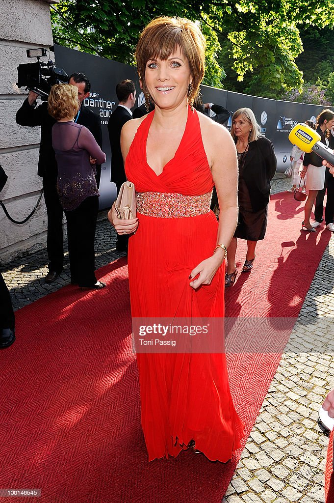 Birgit Schrowange attends the 'Bayerischer Fernsehpreis 2010' at Prinzregententheater on May 21, 2010 in Munich, Germany.