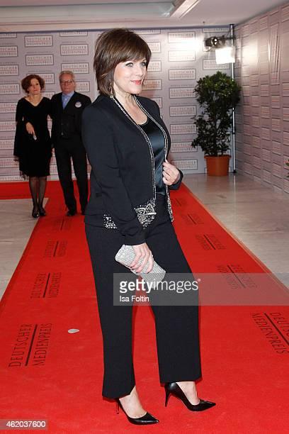 Birgit Schrowange attends the German Media Award 2015 on January 23 2015 in BadenBaden Germany
