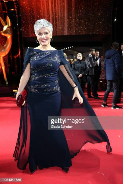 Birgit Schrowange during the Bambi Awards 2018 Arrivals at Stage Theater on November 16 2018 in Berlin Germany