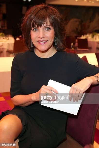 Birgit Schrowange wearing jewelry by Thomas Jirgens Juwelenschmiede during the Lovely Friends Fashion Lunch benefit to 'Children for a better world...
