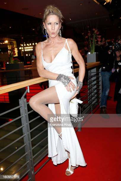 Birgit Stein attends the 'Opening Party 63rd Berlinale International Film Festival' at the 63rd Berlinale International Film Festival at the...