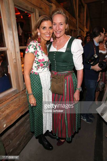 Birgit Strauss Leslie von Wangenheim during the Oktoberfest 2019 at Kaeferschaenke beer tent Theresienwiese on September 27 2019 in Munich Germany