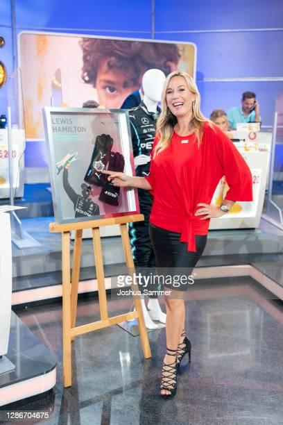 Birgit von Bentzel attends the 25th RTL Telethon on November 19, 2020 in Huerth, Germany.
