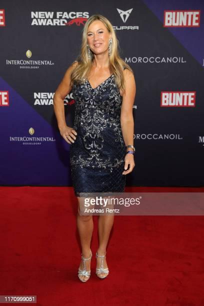 """Birgit von Bentzel attends the Bunte """"New Faces Award Music"""" on August 29, 2019 in Dusseldorf, Germany."""