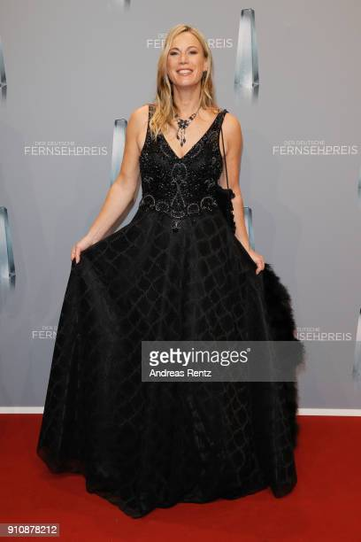 Birgit von Bentzel attends the German Television Award at Palladium on January 26 2018 in Cologne Germany