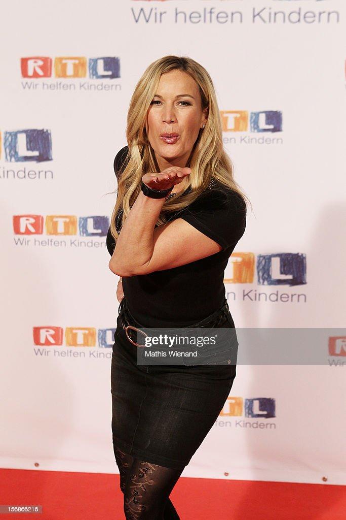 Birgit von Bentzel attends the 'RTL Spendenmarathon' at ...
