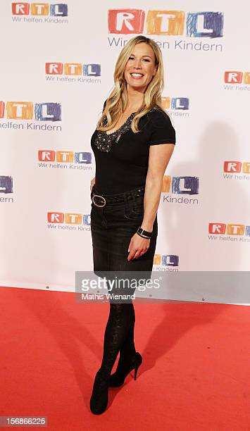 Birgit von Bentzel attends the 'RTL Spendenmarathon' at RTL Studios on November 23 2012 in Cologne Germany
