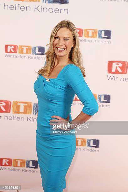 Birgit von Bentzel attends the RTL Telethon 2013 on November 21 2013 in Cologne Germany