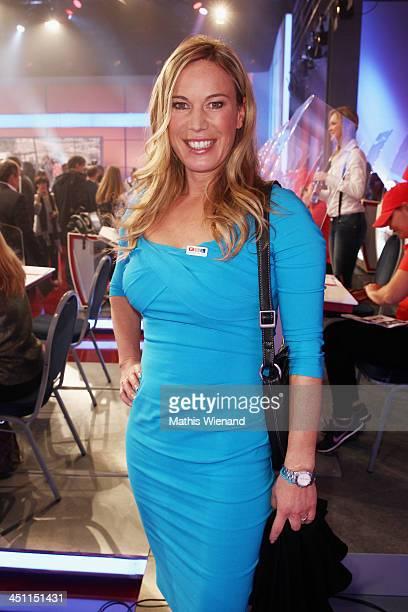 Birgit von Bentzel attends the RTL Telethon 2013 on November 21, 2013 in Cologne, Germany.
