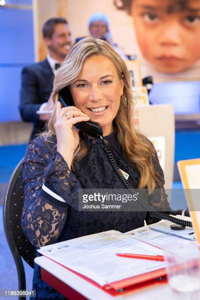 Birgit von Bentzel during the 24th RTL Telethon on November 22 2019 in Huerth Germany