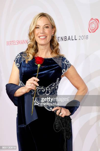 Birgit von Bentzel during the Rosenball charity event at Hotel Intercontinental on May 5, 2018 in Berlin, Germany.