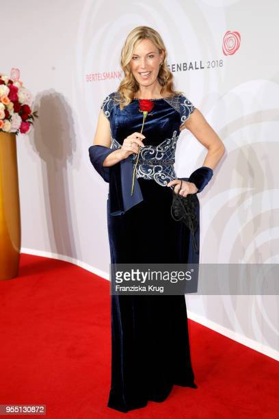 Birgit von Bentzel during the Rosenball charity event at Hotel Intercontinental on May 5 2018 in Berlin Germany