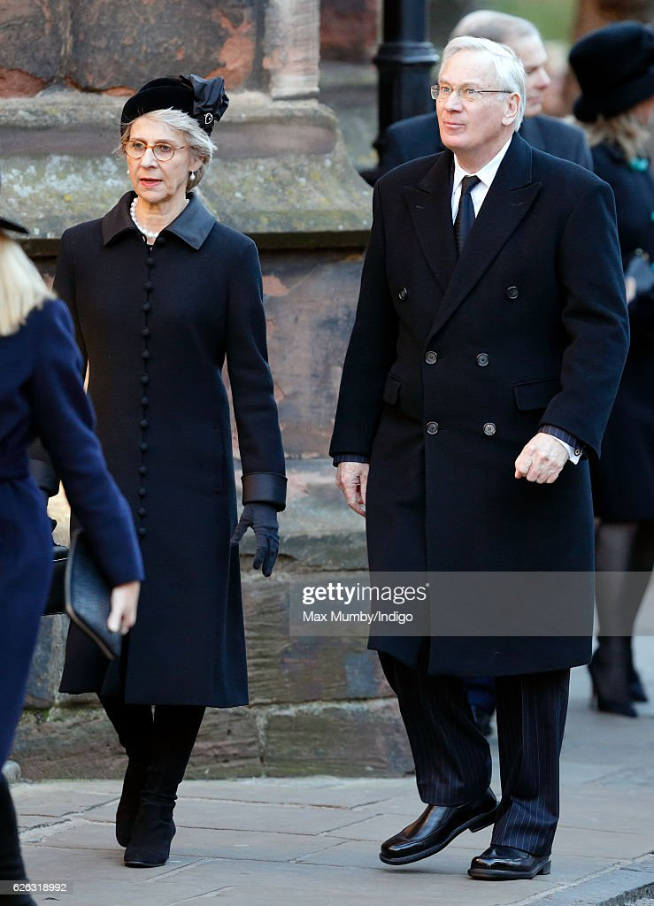 Duke Of Westminster - Memorial Service : News Photo