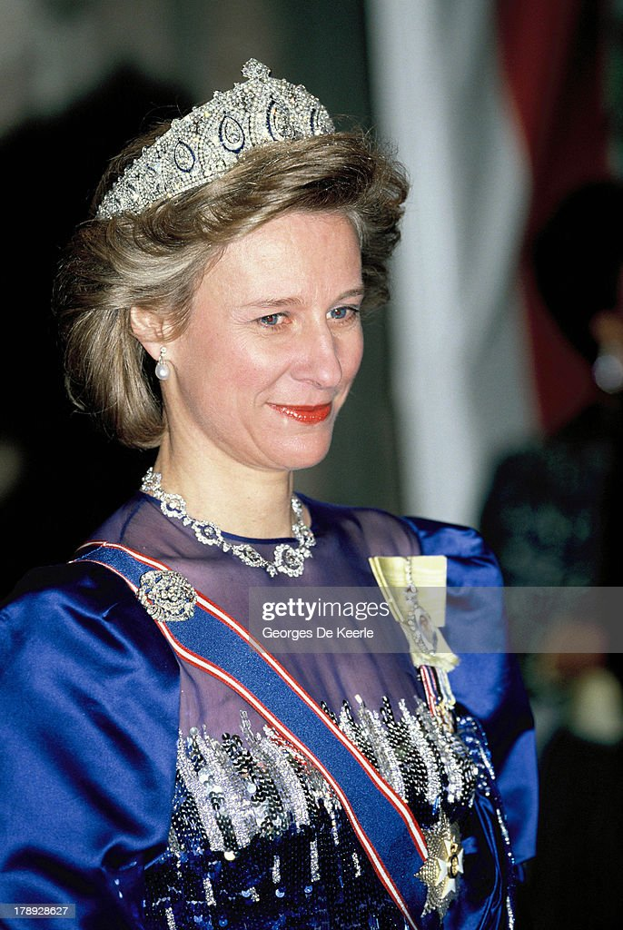 Duchess Of Gloucester : News Photo