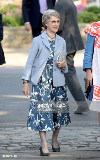 Birgitte Duchess of Gloucester attends Chelsea Flower Show 2018 on May 21 2018 in London England