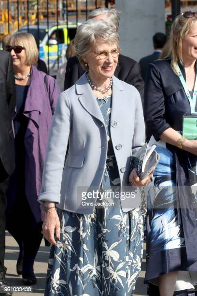 Birgitte, Duchess of Gloucester attends the Chelsea Flower Show 2018 on May 21, 2018 in London, England.