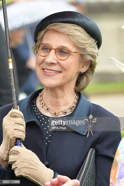 Birgitte, Duchess of Gloucester attends the first Royal Garden Party of the year in the grounds of Buckingham Palace on May 10, 2016 in London,...