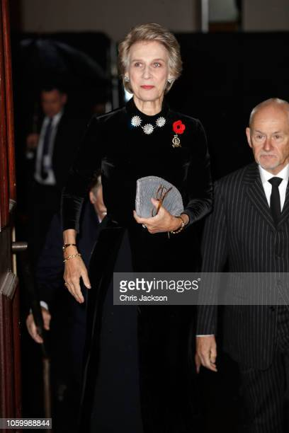 Birgitte Duchess of Gloucester attends the Royal British Legion Festival of Remembrance at the Royal Albert Hall on November 10 2018 in London...