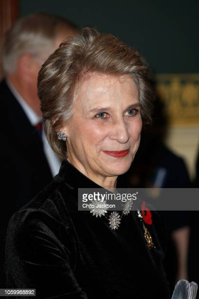 Birgitte, Duchess of Gloucester attends the Royal British Legion Festival of Remembrance at the Royal Albert Hall on November 10, 2018 in London,...