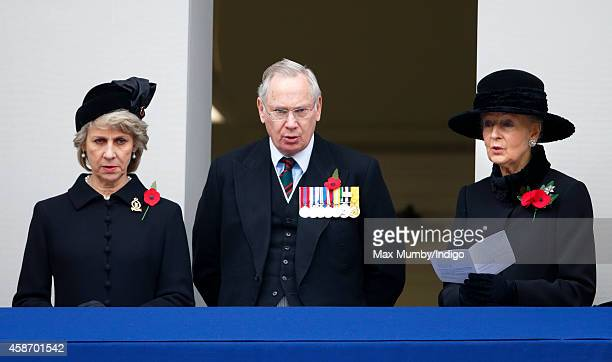 Birgitte Duchess of Gloucester Prince Richard Duke of Gloucester and Princess Alexandra attend the annual Remembrance Sunday Service at the Cenotaph...
