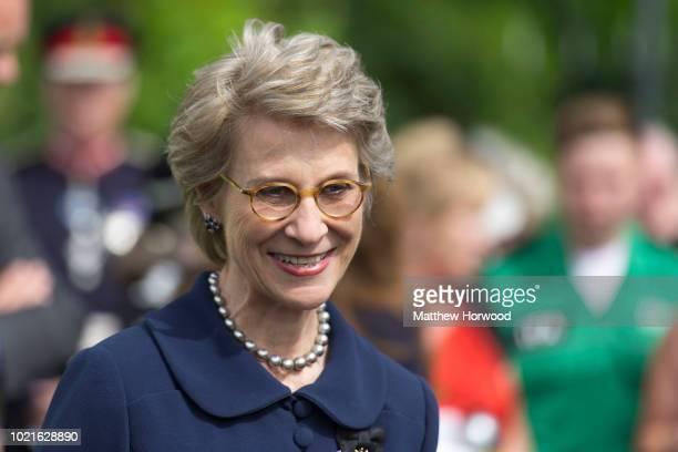 Birgitte Eva Henriksen the Duchess of Gloucester on June 23 2018 in Cardiff United Kingdom