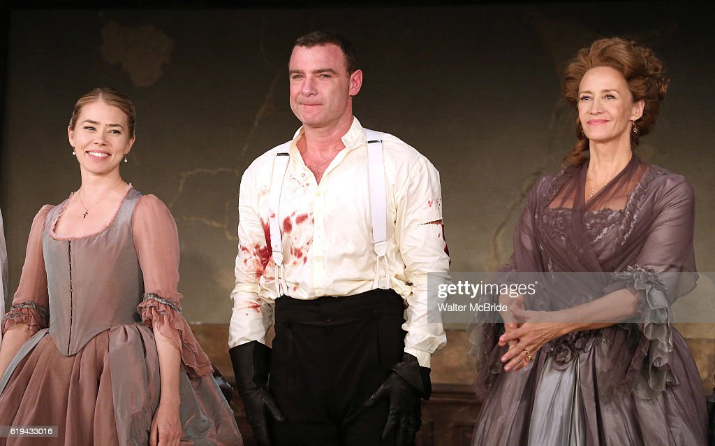 """""""Les Liaisons Dangereuses"""" Opening Night - Arrivals & Curtain Call"""