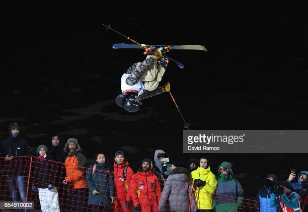 Birk Irving of the United States competes in the Final of the Men's Halfpipe on day eleven of FIS Freestyle Ski Snowboard World Championships 2017 on...