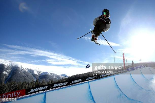 Birk Irving of the United States competes in the finals of the FIS Freeski World Cup 2018 Men's Halfpipe during the Toyota US Grand Prix on December...