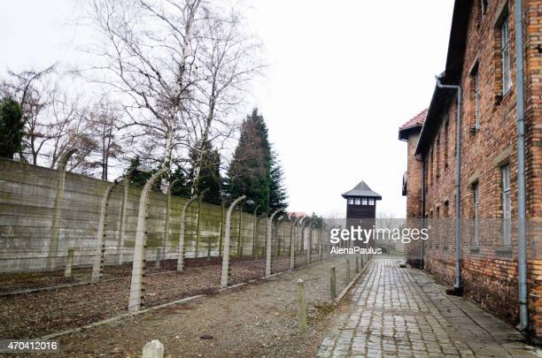 Birkenau concentration camp in Oswiecim, Poland