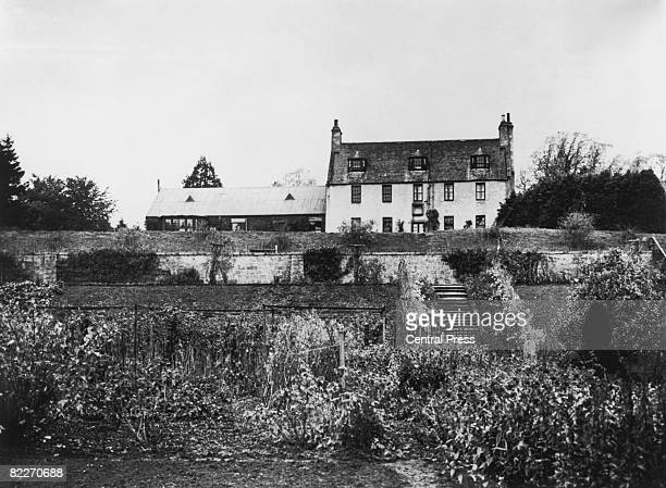 Birkhall a royal residence on the Balmoral estate in Scotland 18th May 1961 It was built in 1715 and bought by Queen Victoria in 1849 for the young...