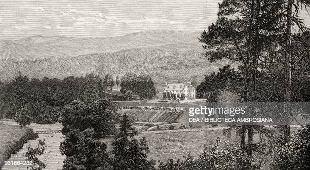 Birkhall near Ballater a Scotch residence of the Prince of Wales United Kingdom illustration from the magazine The Graphic volume XXX no 764 July 19...
