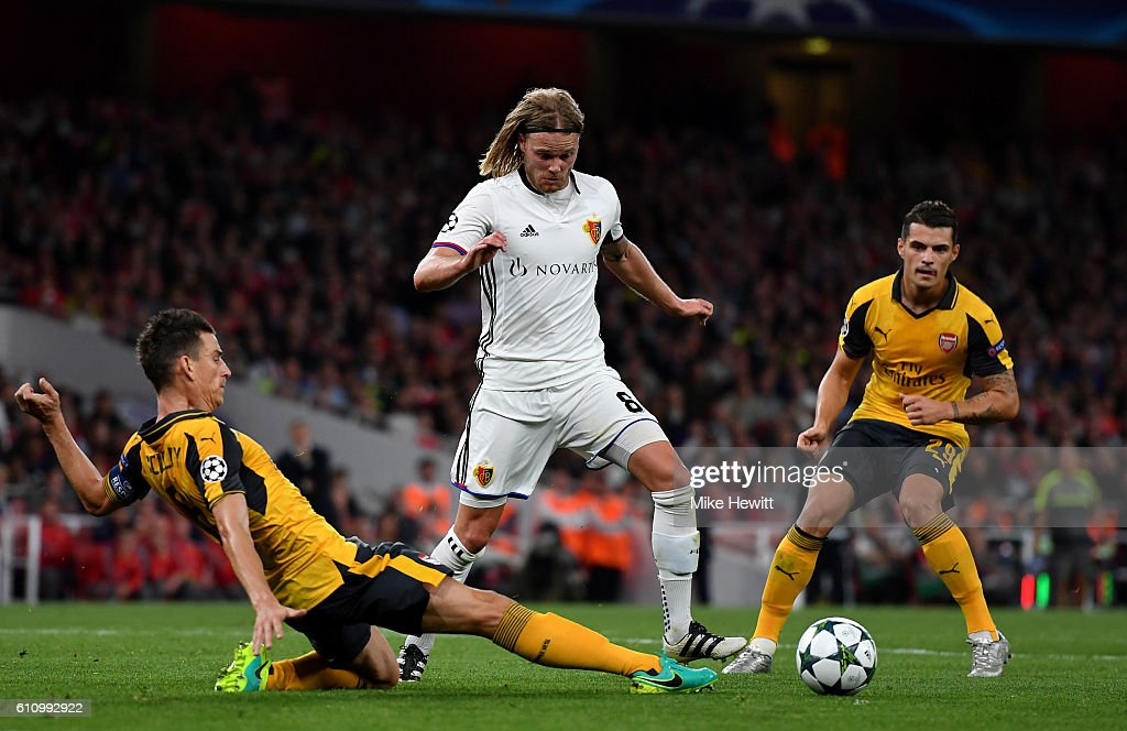 Arsenal FC v FC Basel 1893 - UEFA Champions League : News Photo