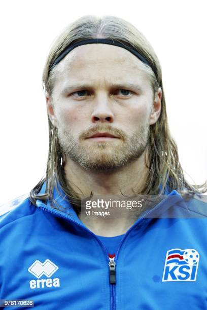 Birkir Bjarnason of Iceland during the 2018 FIFA World Cup Russia group D match between Argentina and Iceland at the Spartak Stadium on June 16 2018...