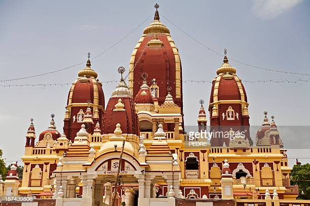 birla mandir temple, delhi, india - goddess lakshmi stock pictures, royalty-free photos & images