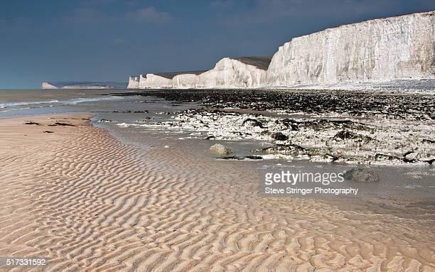 Birling Gap Beach at Low Tide