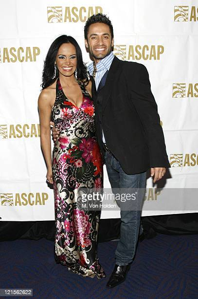 Birmania Rios and Kamar De Los Reyes during 15th Annual ASCAP Latin Music Awards - Cocktail Reception at Nokia Theatre in New York City, New York,...