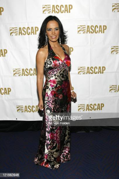 Birmania Rios during 15th Annual ASCAP Latin Music Awards - Cocktail Reception at Nokia Theatre in New York City, New York, United States.