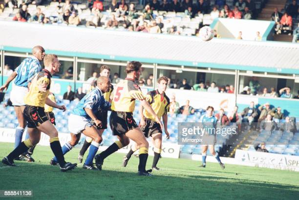 Birmingham 1-0 Watford, league division one match action at St Andrew's, Saturday 16th October 1993. Our picture shows Danny Wallace in action.