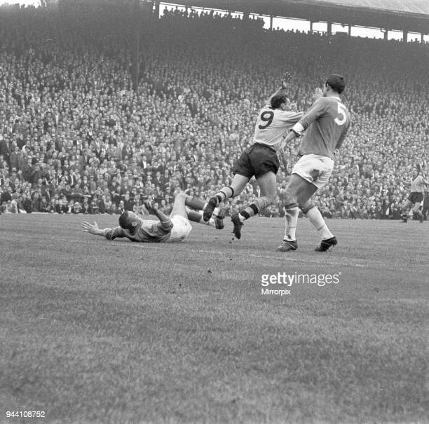 Birmingham 36 Wolves division one league match at St Andrews Saturday 7th October 1961 Pictured Mark Lazarus of Wolves in action