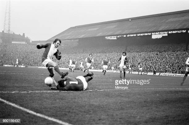 Birmingham City 1-1 Arsenal, league match at St Andrews, Saturday 23rd December 1972.