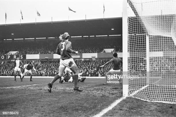 Birmingham City 11 Arsenal league match at St Andrews Saturday 23rd December 1972