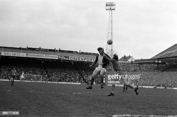 Birmingham City 4 - 1 Luton Town First Division match held at St Andrew's, 19th April 1975.
