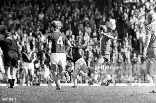 Birmingham City 40 Burnley league match at St Andrews Saturday 20th September 1975