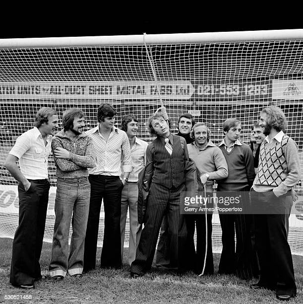 Birmingham City footballers set up a mock hanging or lynching of comedian and Birmingham City supporter Jasper Carrott at St Andrews in Birmingham...